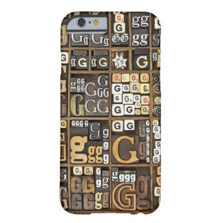 Letter G Barely There iPhone 6 Case