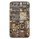 Letter G Case-Mate iPod Touch Case