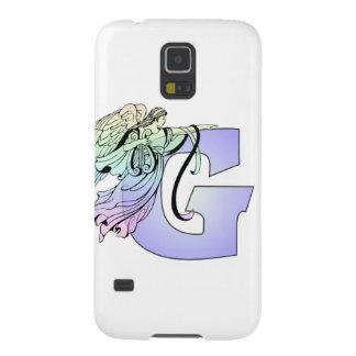 Letter G guardian angel monogram alphabet initial Galaxy S5 Case