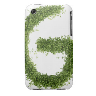 Letter 'G' in cress on white background, iPhone 3 Case-Mate Case