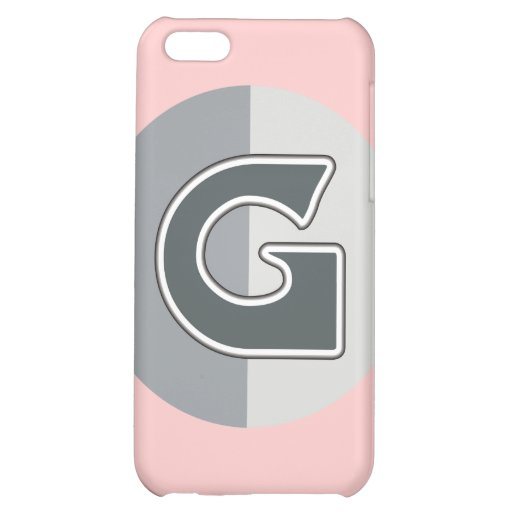 Letter G iPhone 5C Cover