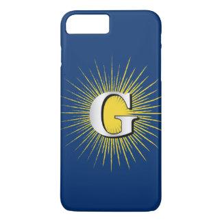 Letter G – masonic symbol iPhone 8 Plus/7 Plus Case