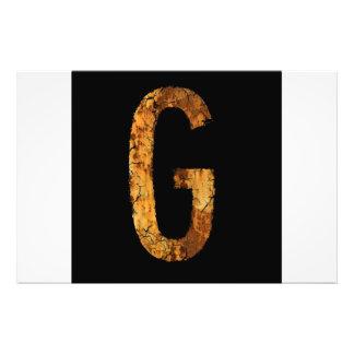Letter G Photo