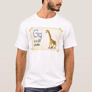 Letter G T-Shirt