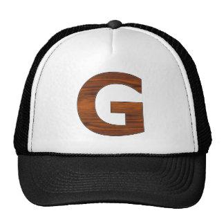 Letter -  G Trucker Hat