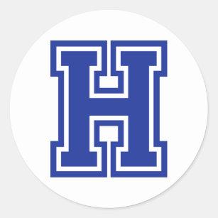 letter h stickers sticker designs zazzle