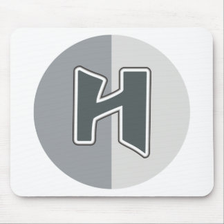 Letter H Mouse Pad