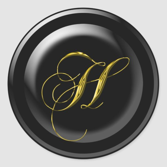 Letter H Wedding Seal