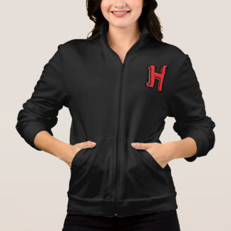 Letter H Womens Jacket