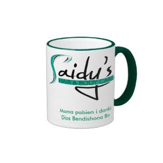 letter_haed__1, Mama pabien i dankiDios Bendish... Ringer Mug