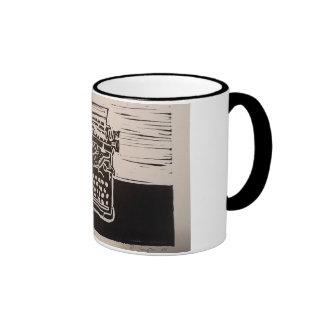Letter Home Ringer Coffee Mug