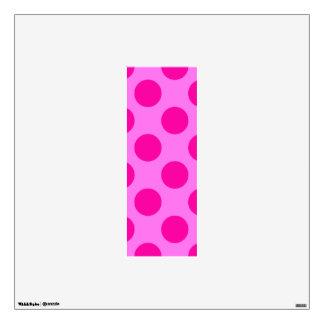 letter I cute kawaii polka dots shabby chic medium Wall Sticker
