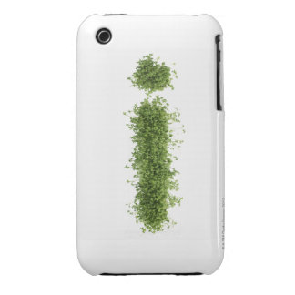 Letter 'i' in cress on white background, Case-Mate iPhone 3 case