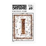 Letter I monogram Postage Stamps