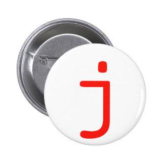 Letter j button