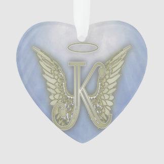 Letter K Angel Monogram