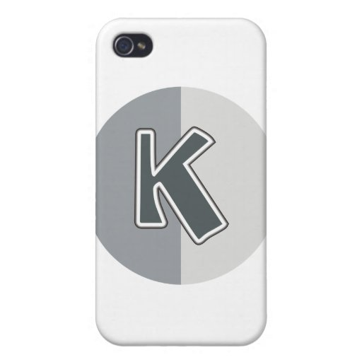 Letter K iPhone 4/4S Covers