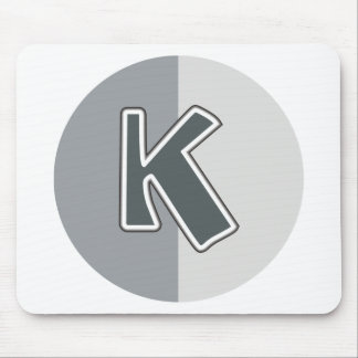 Letter K Mouse Pad