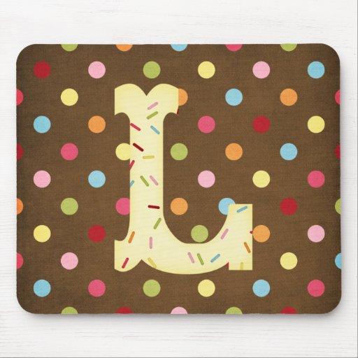 Letter L Mouse Pad