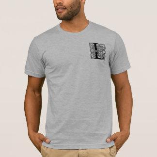 Letter L Vintage Celtic Knot Monogram T-Shirt