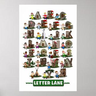 Letter Lane Poster