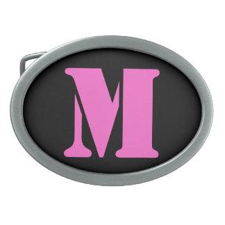 Letter M Belt Buckle