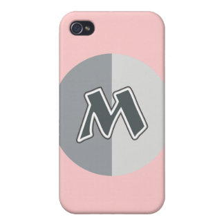 Letter M Case For iPhone 4