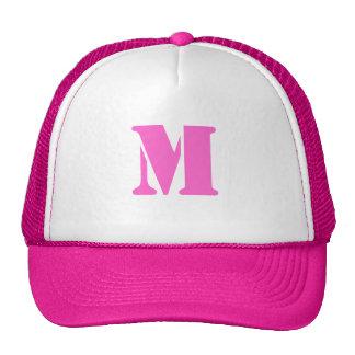 Letter M Hat