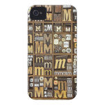 Letter M iPhone 4 Case-Mate Cases