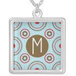 Letter M Monogram Necklace
