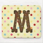 Letter M Mousepads