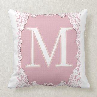 Letter M Pillow