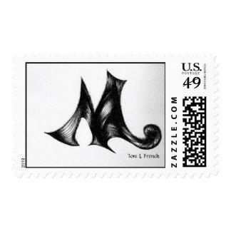 """Letter M"" Stamp"