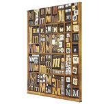 Letter M Stretched Canvas Print