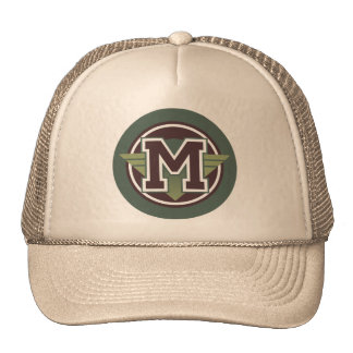 """Letter """"M"""" Trucker Hat"""