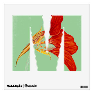 """Letter """"M"""" Wall Decal"""