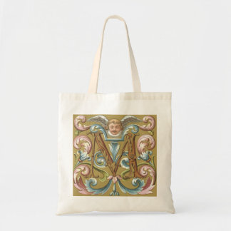 Letter 'M' With Angel - Bag