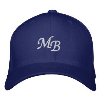 Letter MB- Embroidered Baseball Hat