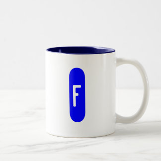 """""""Letter Mug F"""""""