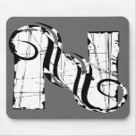 Letter N Mouse Pad