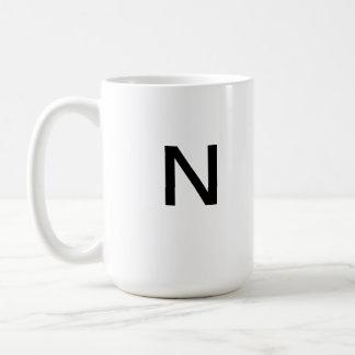 Letter N mug