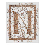 letter N Posters