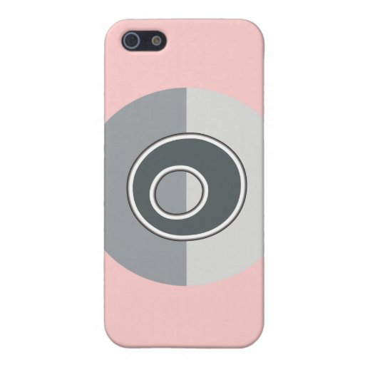 Letter O Covers For iPhone 5