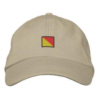 Letter O Embroidered Baseball Hat