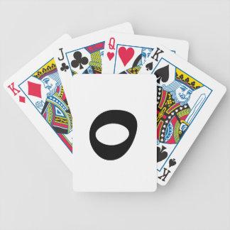 Letter O_large Poker Deck