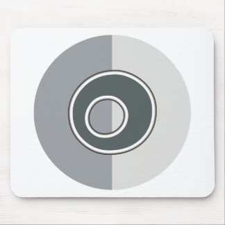 Letter O Mouse Pad