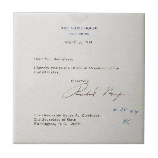 Flipboard Richard Nixon Tried To Invoke Executive: Letter Of Resignation Of Richard M. Nixon 1974 Postcard