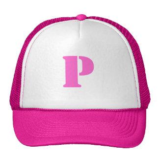 Letter P Hat
