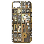 Letter P iPhone 5 Cover