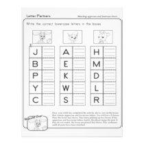 Letter Patterns Worksheets Flyer
